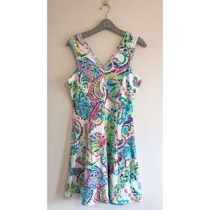 Lilly Pulitzer | Dahlia Fit & Flare Resort Toucan